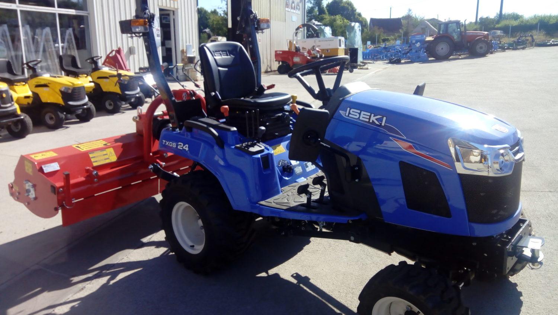 Nouveau : le micro tracteur
